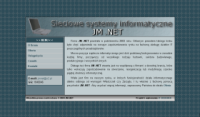Website of JM .NET Company - Thumbnail